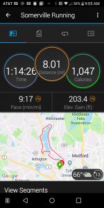 Garmin Falmouth Running